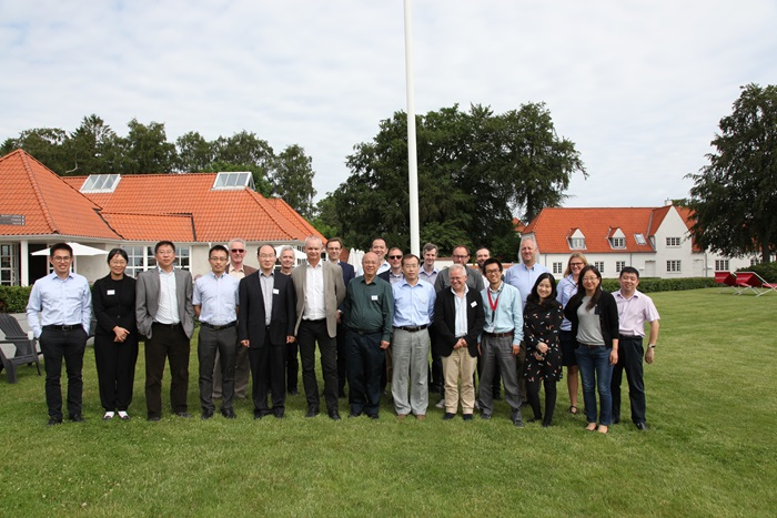 Group photo IPE seminar. Photo: DTU Chemical Engineering