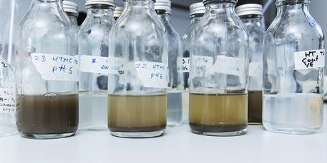 Biorefinery fermentations include studies and monitoring of conversion in complex substrate mixtures. Photo: Thorkild Christensen
