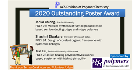 2020 outstanding poster award - ACS Division of Polymer Chemistry